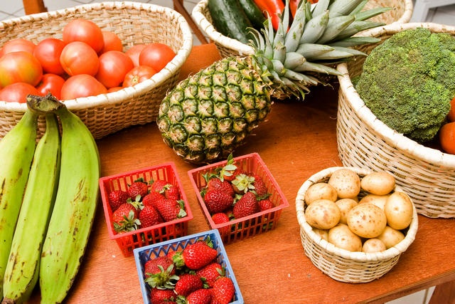 Fresh and local fruit and vegetables! I am in heaven![costaricantimes.com]